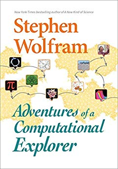 Stephen Wolfram book cover - Adventures of a Computational Explorer