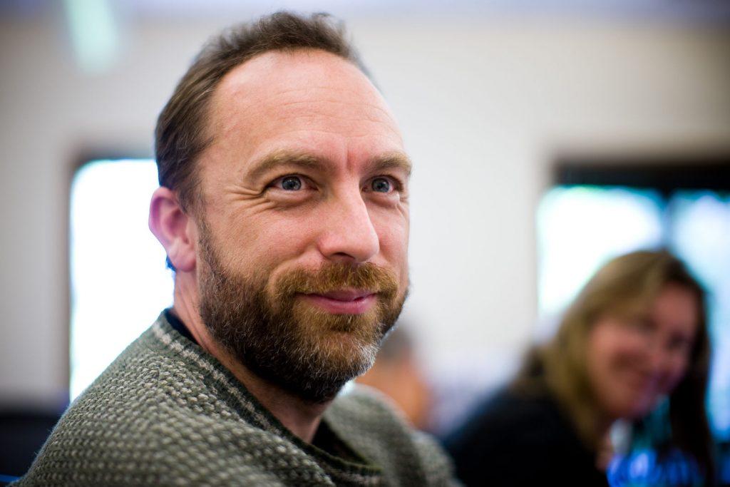 Jimmy Wales in 2008 - via Wikipedia