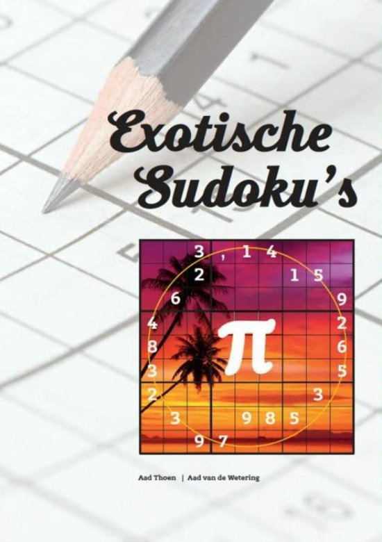 Exotische Sudoku book cover - from bol dot com