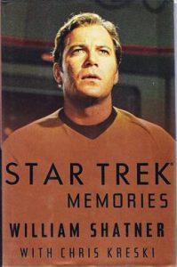 The cover of William Shatner's memoir Star Trek Memories