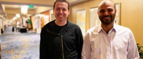 James Watters and Sina Sojoodi at KubeCon San Diego 2019