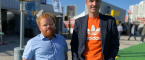 Liran Tancman and Corey Scobie at ReInvent 2019