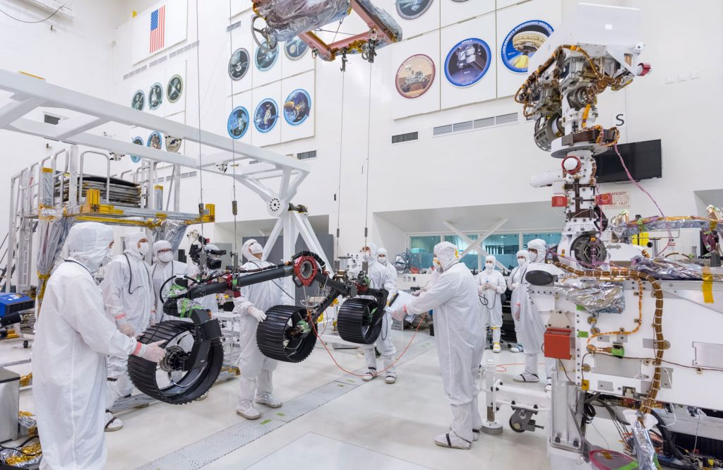 NASA JPL tests the Mars 2020 rover - June 2019 - 527
