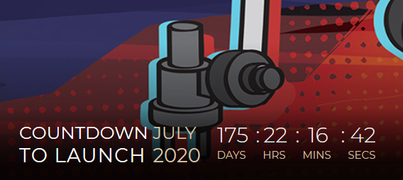 Nasa dot gov countdown to Mars 2020 rover launch