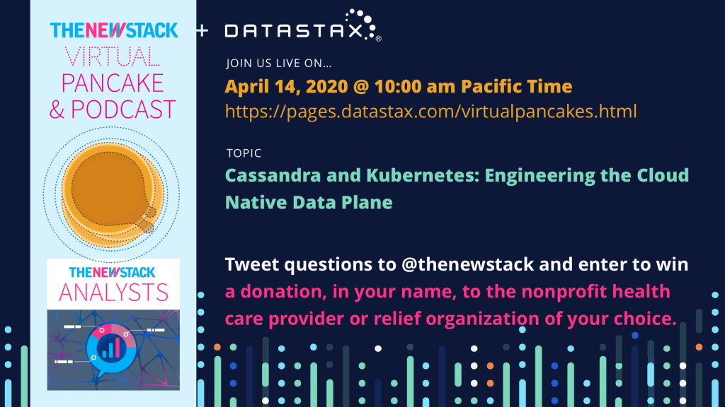 Datastax Virtual Pancakes Event Graphic