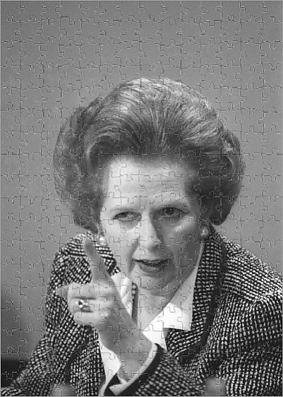 Reuters photo of Margaret Thatcher becomes jigsaw puzzle