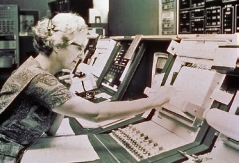 Nancy Grace Roman in the 1970s