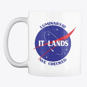 Curious Marc coffee mug for Apollo 10