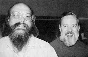 Ken_Thompson_and_Dennis_Ritchie--1973 (via Wikipedia)