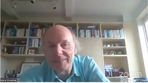 Bjarne Stroustrop smiling again - ask me anything 2020 (screenshot)