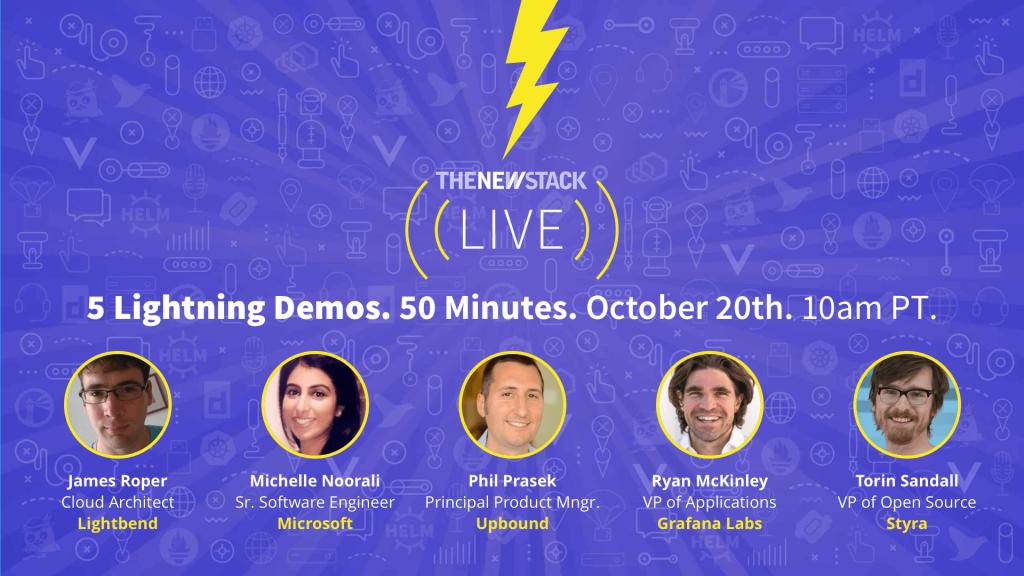 5 lightning demos graphic