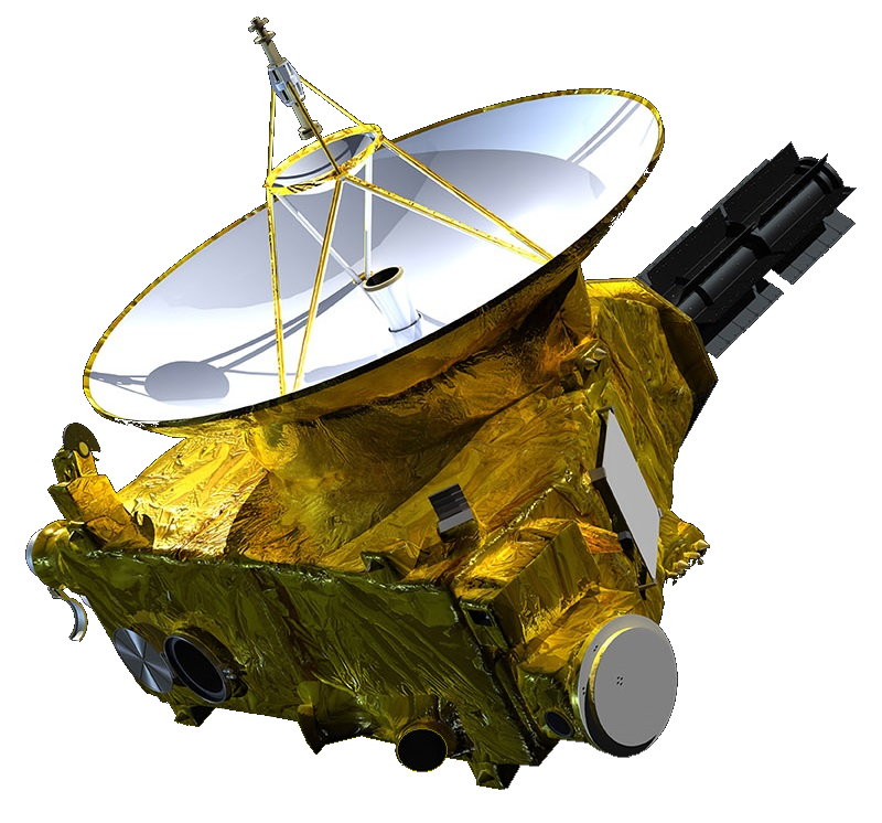 New_Horizons_spacecraft_model_1 (by NASA's Applied Physics Laboratory via Wikipedia)