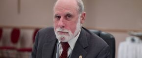 VintCerf in 2007 - by Joi Ito - Creative Commons via Wikipedia