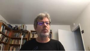 Guido van Rossum at 2020 Virtual Python Core Development sprint kick-off - screenshot via YouTube