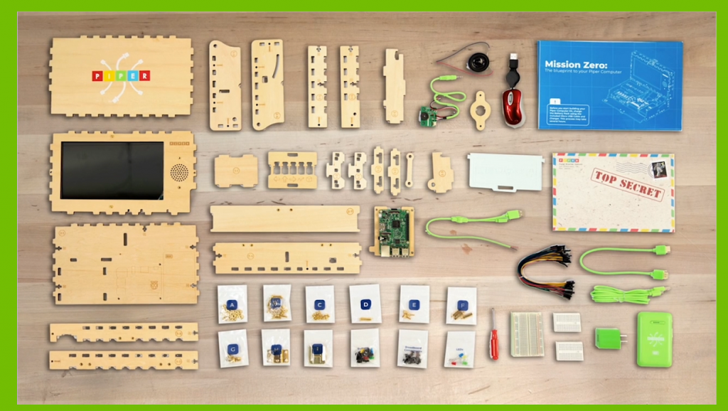 Screenshot from Piper Computer Kit video