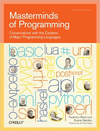 Masterminds of Programming book cover (via Amazon)
