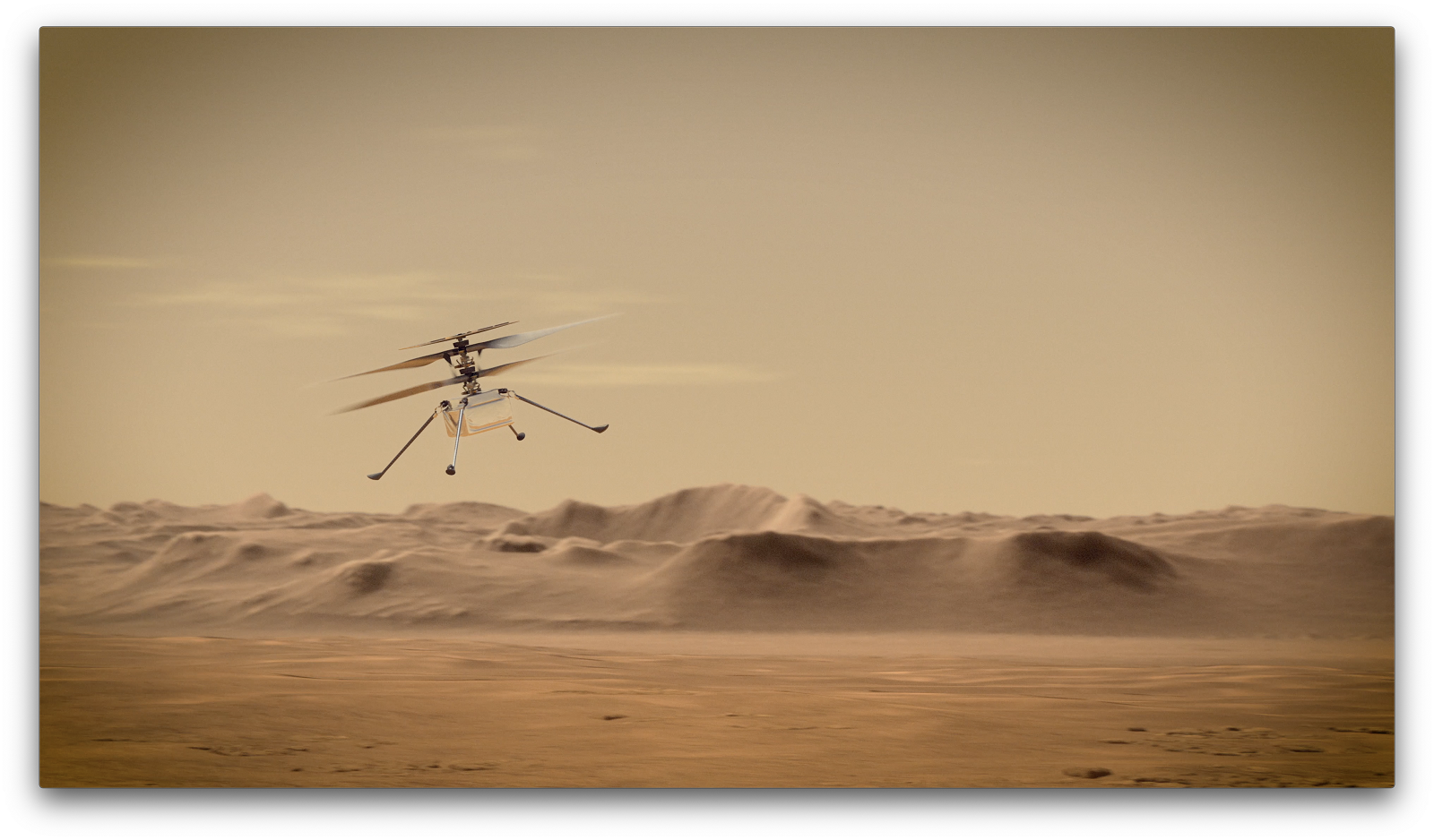 How the First Helicopter on Mars Uses Off-the-Shelf Hardware and Linux - The New Stack