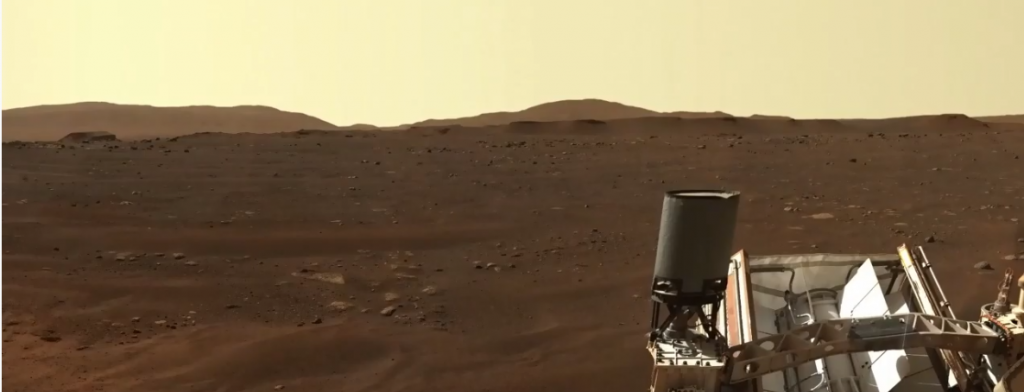 NASA on YouTube - Mastcam-Z event on Thursday (edge of the crater delta) cropped pic