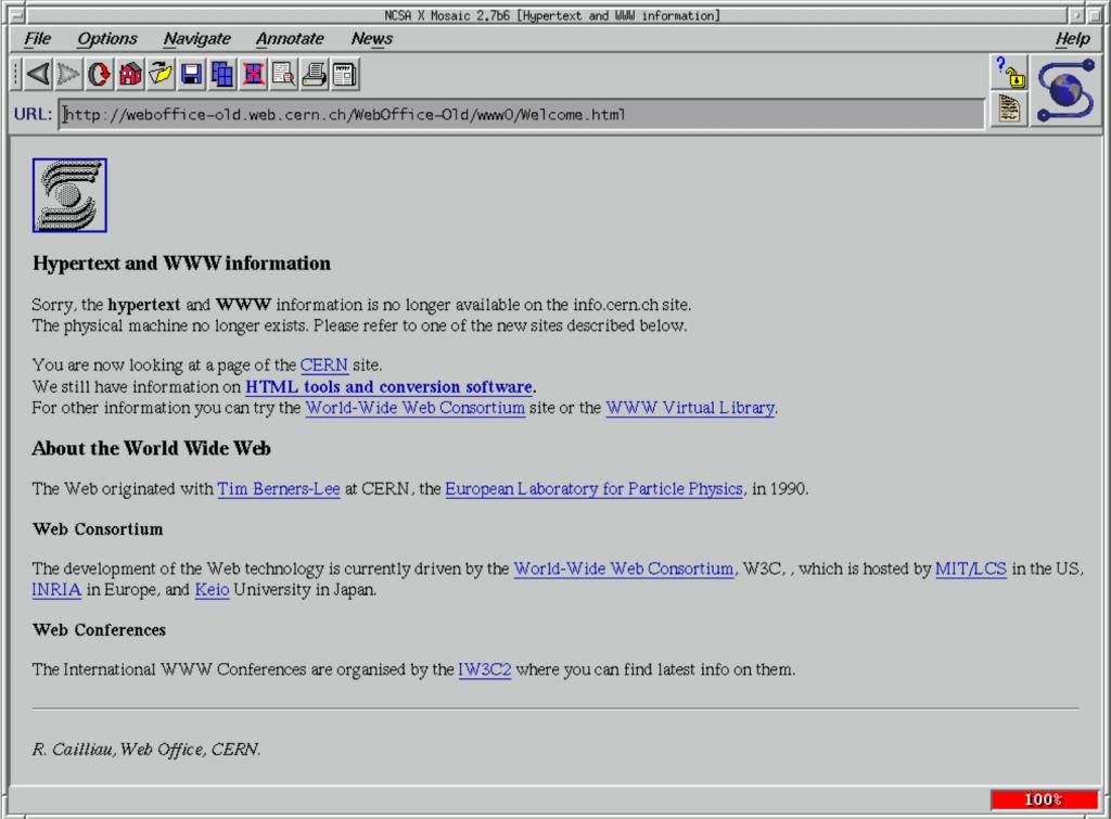 NCSA_Mosaic_Browser_Screenshot - by National Center for Supercomputing Applications via Wikipedia