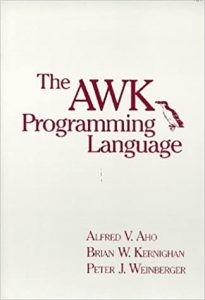 Cover of The Awk Programming Language book (via Amazon) - 1988