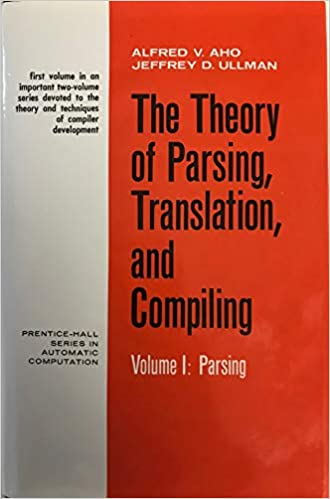 Theory of Parsing Translation and Compiling book cover via Amazon