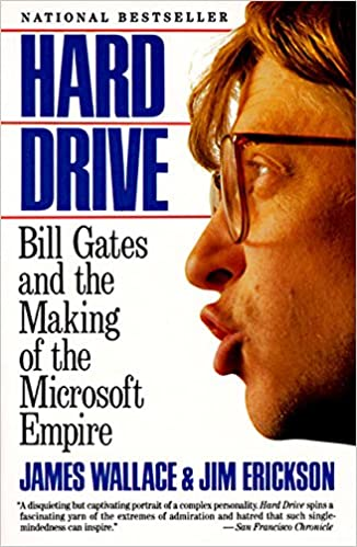 Cover of Hard Drive - Bill Gates and the Making of the Microsoft Empire - book cover via Amazon