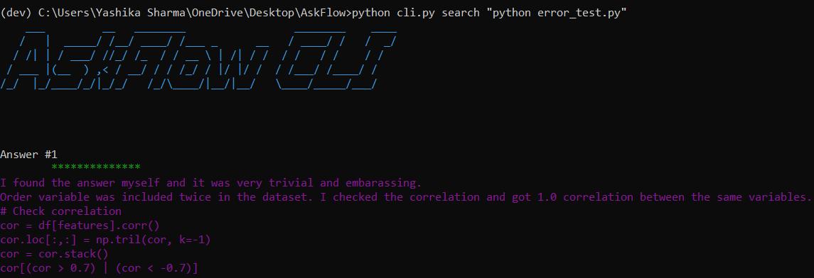 screenshot-of-askflow-by-developer-yashika-sharma