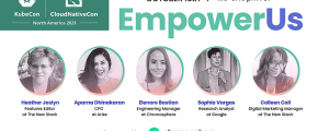 EmpowerUs event image showing members of the panel